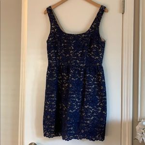 Pretty blue lace dress from Nordstrom. Never worn!